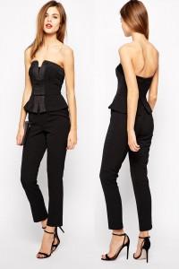 Combinaison pantalon effet tailleur