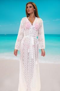 Robe de plage brodé
