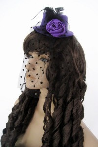 Bibi chapeau violet