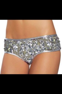 Shorty à sequins