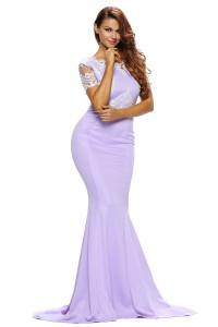 Robe fornelle violette