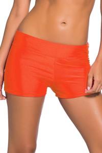 Short de plage orange