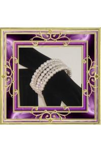 Bracelet strass et perles