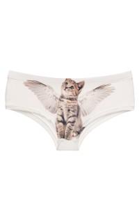 culotte 3D chat ailé