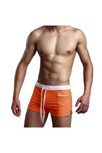 Maillot de bain Boxer homme orange