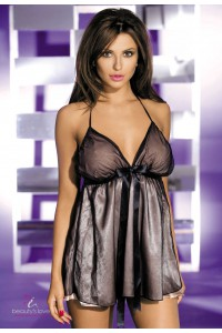 Nuisette satin grise