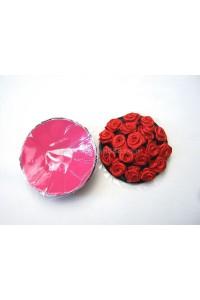 Cache tétons roses rouges