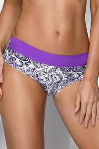 Culotte imprimée violet