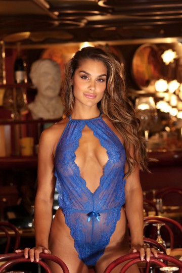 Body sexy bleu