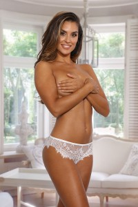 Culotte taille basse blanc