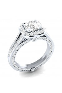 Bague Madame Luxe argent