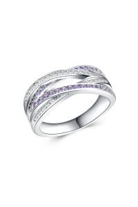 Bague Lady violette