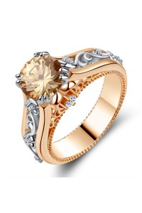 Bague Luxury Rose Gold