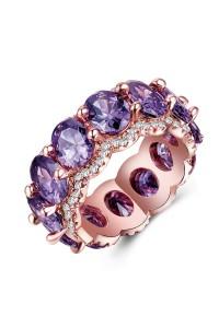 Bague Cristal Violet