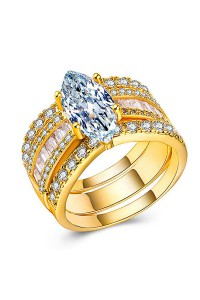 Bague Sunshine Or
