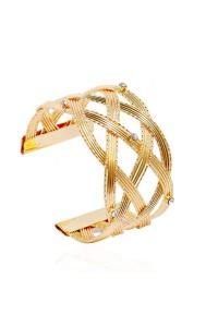 Bracelet Jonc Croisé Or