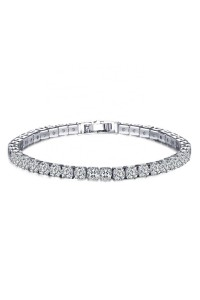 Bracelet Diamond Argent