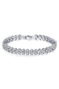 Bracelet Snow Argent