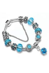 Bracelet Charm Bleu