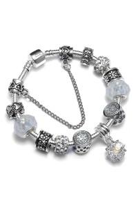 Bracelet Charm Argent