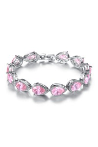 Bracelet Austrian Rose