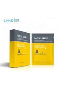 Set de 5 Masques Tissu Gold anti-âge