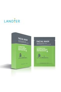 Set de 5 Masques Tissu Acide Hyaluronique