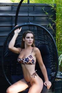 Bikini Brésilien Léopard