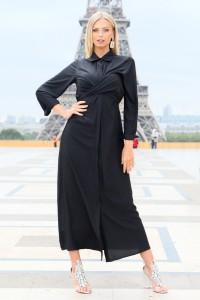 Robe maxi noir