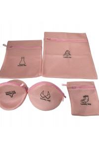 Set pour lavage lingerie en machine.