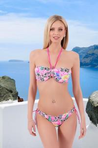 Bikini flamand rose