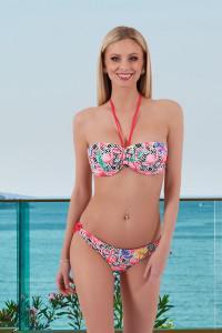 Bikini flamand rouge