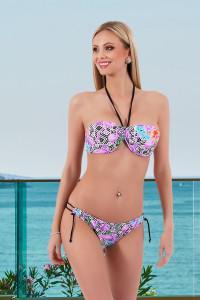 Bikini flamand violet