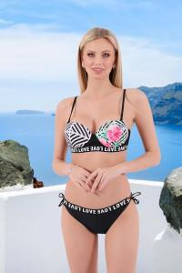 Bikini tropical noir