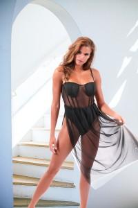 Body robe noir