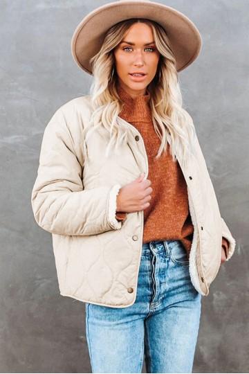 Manteau beige