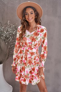 Mini robe fleurie
