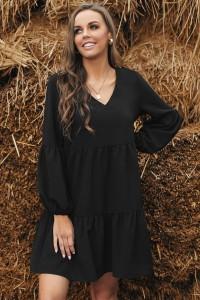 Robe ample noire