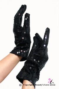 Paire de gants facettes