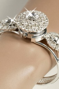 Bracelet montre strass Circle