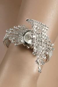 Bracelet montre strass