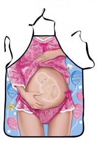 Tablier humoristique BABY ON BOARD